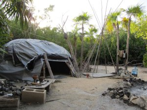 Sweat lodge Tulum